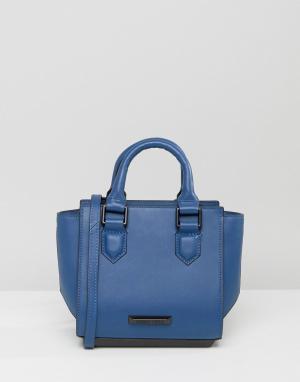 Kendall + Kylie Синяя сумка-тоут Brook. Цвет: синий
