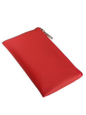 Косметичка плоская Norton (180х110мм) (красный карбон) Norton.. Цвет: красный