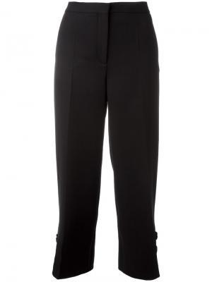 Укороченные брюки Salvatore Ferragamo. Цвет: чёрный