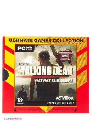 Ultimate Games. The Walking Dead. Инстинкт выживания (Jewel) НД плэй. Цвет: оранжевый, серый, красный