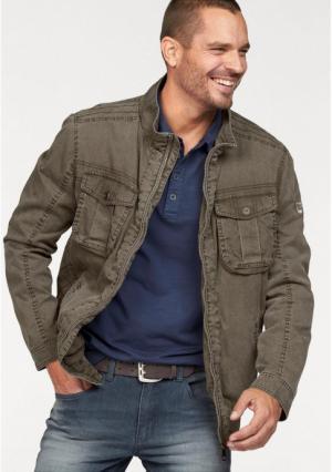 Куртка Arizona. Цвет: хаки