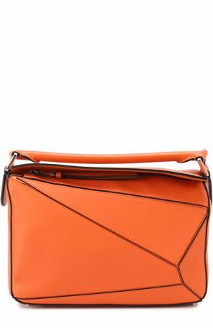 Сумка Puzzle Small Loewe. Цвет: оранжевый
