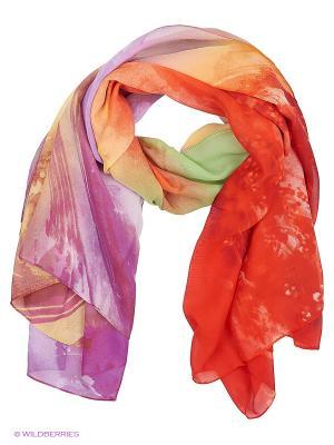 Парео текстильное Vittorio Richi. Цвет: красный, желтый