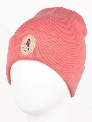 Шапка ЗАПОРОЖЕЦ Snigir FW16. Цвет: бледно-розовый, розовый