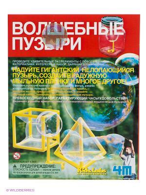 Волшебные пузыри 4M. Цвет: светло-зеленый, желтый, красный
