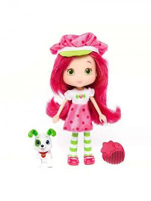 Игрушка Шарлотта Земляничка Кукла с питомцем, 15 см, кор. The Bridge. Цвет: красный
