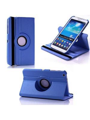 Обложка skinBOX rotation 360 для планшета Samsung T310. Цвет: синий