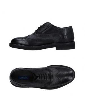 Обувь на шнурках DIMATTIA. Цвет: черный