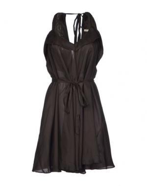 Платье до колена TWENTY8TWELVE. Цвет: стальной серый