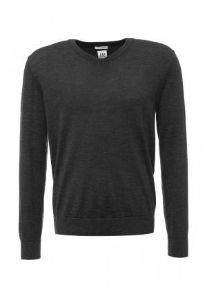 Пуловер Gap. Цвет: серый