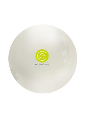 Мяч гимнастический ABS диам 65 см c насосом, QB-001TAG3-26 Ecowellness. Цвет: белый