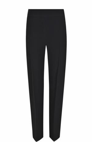 Укороченные брюки со стрелками BOSS. Цвет: черный