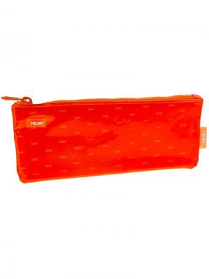 Пенал-косметичка 225*85*15 Look, оранжевый, ПВХ Milan. Цвет: оранжевый