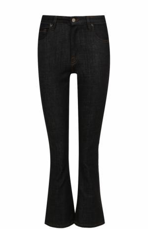 Укороченные расклешенные джинсы Victoria, Victoria Beckham. Цвет: синий