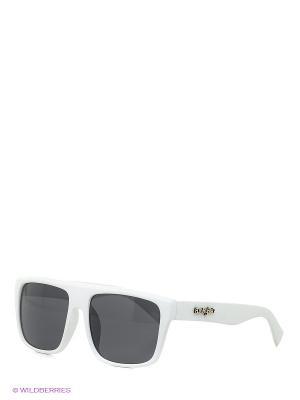 Солнцезащитные очки Funky Fish. Цвет: белый
