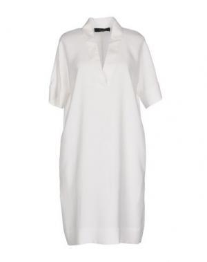 Короткое платье TWELVE-T. Цвет: белый