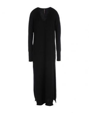 Длинное платье MANILA GRACE. Цвет: черный