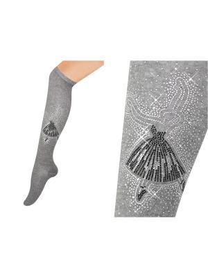 Получулки Glamuriki. Цвет: черный, серый