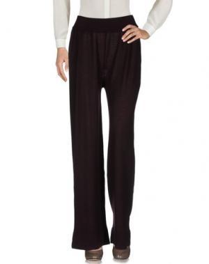 Повседневные брюки ALPHA STUDIO. Цвет: баклажанный