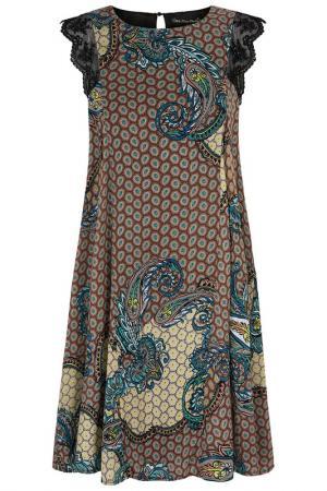 Платье Mela london. Цвет: multicolor