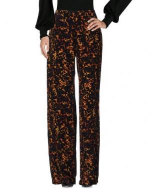 Повседневные брюки SALONI. Цвет: ржаво-коричневый
