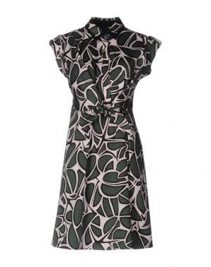 Короткое платье TARA JARMON. Цвет: зеленый