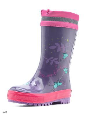 Сапоги MAXIMO. Цвет: фиолетовый