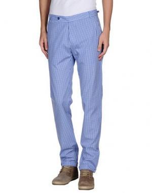Повседневные брюки DANIELE ALESSANDRINI. Цвет: синий