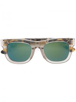 Солнцезащитные очки Ciccio Sportivo Retrosuperfuture. Цвет: телесный