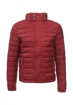 Куртка утепленная Superdry. Цвет: красный