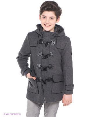 Куртка Baby Steen. Цвет: темно-серый