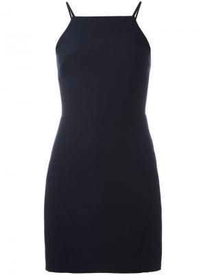 Платье с открытой спиной Elizabeth And James. Цвет: синий