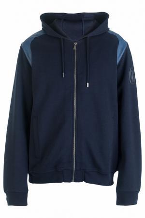 Олимпийка Trussardi Jeans. Цвет: синий