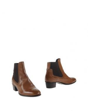 Полусапоги и высокие ботинки AGL ATTILIO GIUSTI LEOMBRUNI. Цвет: светло-коричневый
