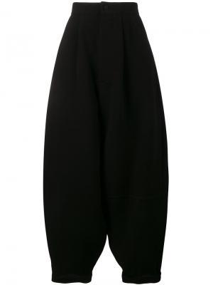 Объемные брюки с завышенной талией Loewe. Цвет: чёрный