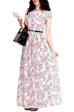 Платье FRANCESCA LUCINI. Цвет: жасмин