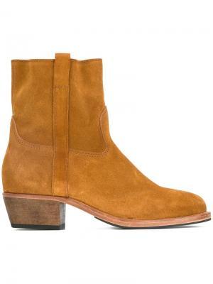 Ботинки Jane Jérôme Dreyfuss. Цвет: коричневый