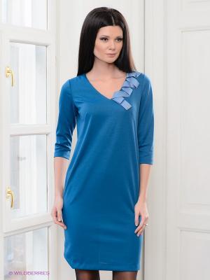 Платье Vaide. Цвет: морскаяволна