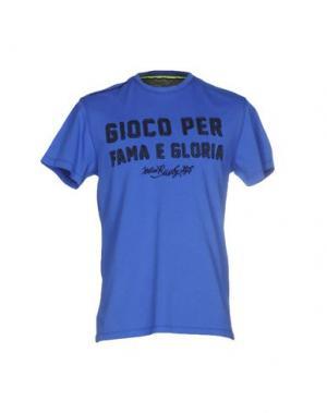 Футболка ITALIAN RUGBY STYLE. Цвет: ярко-синий