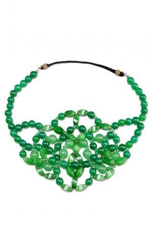 Повязка на голову 123600 Lolita Shonidi. Цвет: зеленый