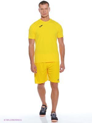 Футболка Combi Joma. Цвет: желтый