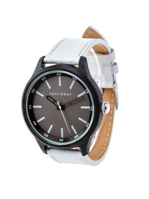 Часы Tokyobay Specs White. Цвет: белый