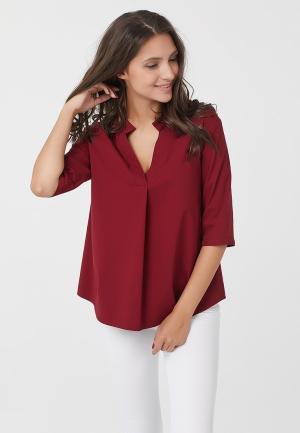 Блуза Fly. Цвет: бордовый