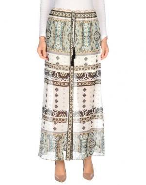 Длинная юбка HALE BOB. Цвет: зеленый-милитари