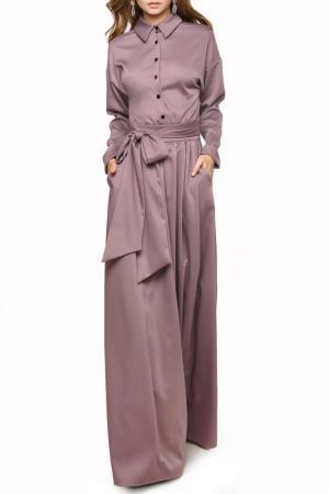 Платье MARICHUELL. Цвет: пыльно-сиреневый