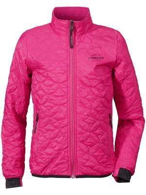 Куртка BRITA DIDRIKSONS. Цвет: розовый