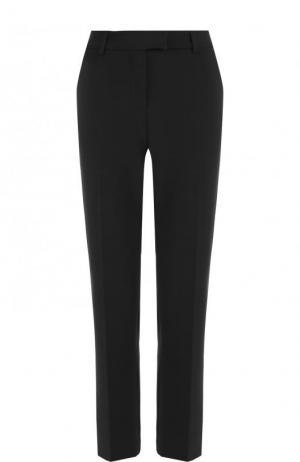Укороченные расклешенные брюки со стрелками Paul&Joe. Цвет: черный