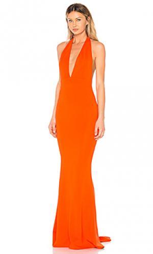 Вечернее платье jenny from the block NBD. Цвет: оранжевый