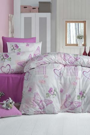 Double Quilt Cover Set Victoria. Цвет: white, pink, purple