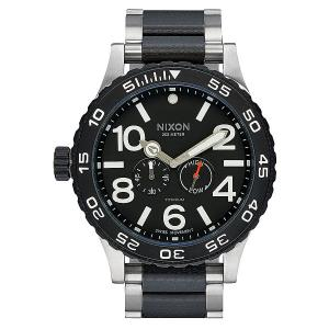 Кварцевые часы  Moon Raider Titanium/G10 Nixon. Цвет: серый,черный